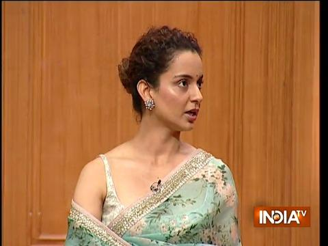 Bollywood Actress Kangana Ranaut in Aap ki Adalat (Full Interview)