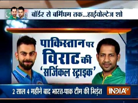 Champions Trophy 2017: India favourites against Pakistan in high-octane clash
