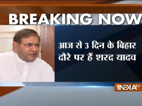 Sharad Yadav to visit Bihar today, JDU heading towards split