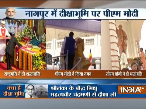 President, PM Modi, and CM Adityanath pays tribute to Ambedkar on 126th birth anniversary