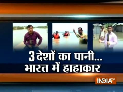 Ground zero report: Watch flood situation from three boders