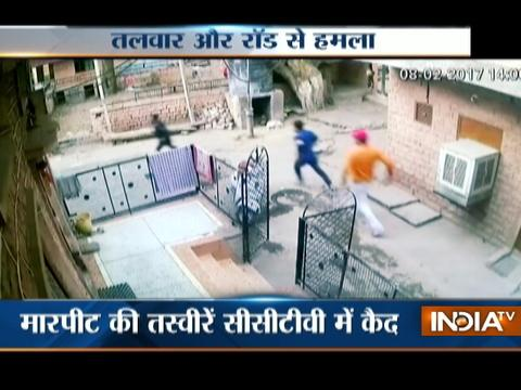 Caught On Camera: Open Fire In Gang War At Jodhpur