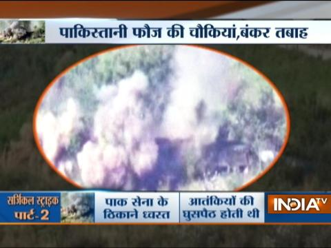 Watch: Indian Army releases video of 'punitive assaults' on Pakistani posts in Naushera