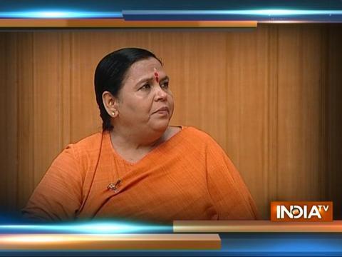 Uma Bharti targets Nitish Kumar, Sonia over Babri Masjid in Aap Ki Adalat Saturday at 10 PM on India TV