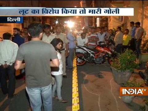 Delhi businessman shot dead for objecting against loot near Sarai Rohilla