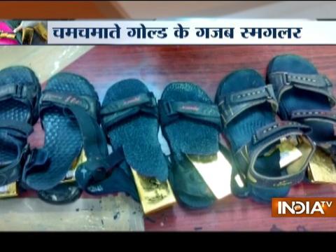Watch gold found in socks from Dubai-Mumbai flight