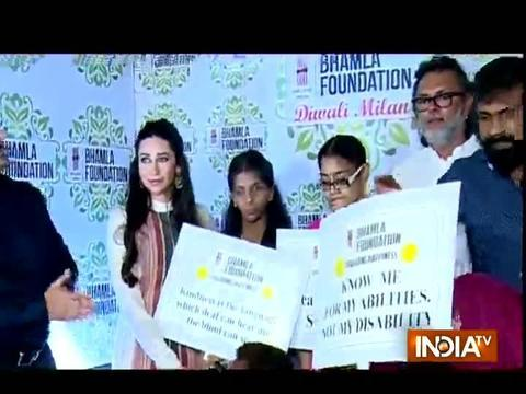 Karisma Kapoor celebrates Diwali 2017 with underprivileged kids