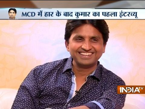 Party lost elections because people did not vote for AAP, not because of EVMs says Kumar Vishwas