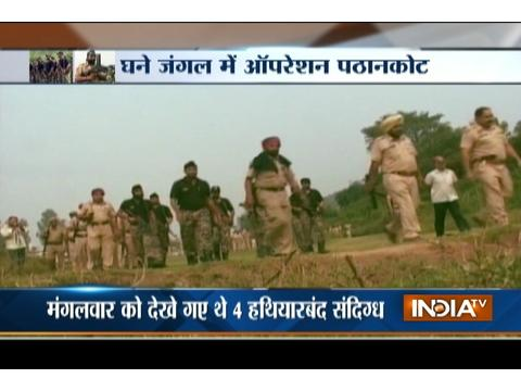 Pathankot on high alert, Punjab police launching a massive search for 4