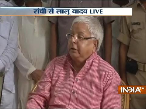 The timing of whatever happened today was already fixed: Lalu Yadav