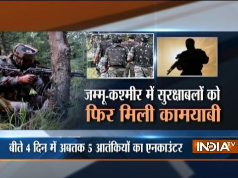 J-K: Army kills Hizbul Terrorist in an encounter in Anantnag