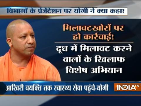 UP CM Yogi Adityanath orders probe into food adulteration
