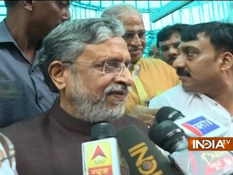Sushil Modi: PM Modi and Nitish Kumar will bring back development in Bihar