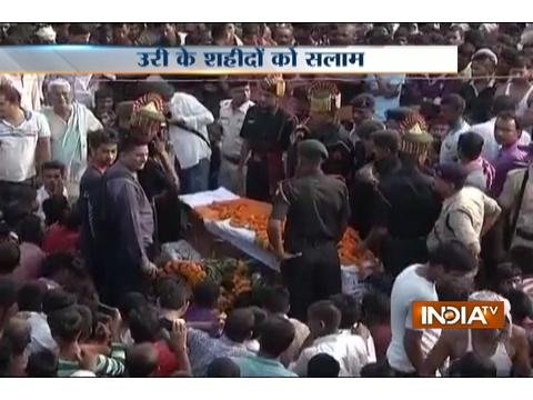 Army pays tribute to martyr of Uri attack Ashok Kr Singh