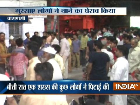 Youth beaten up by unidentified bikers in Varanasi