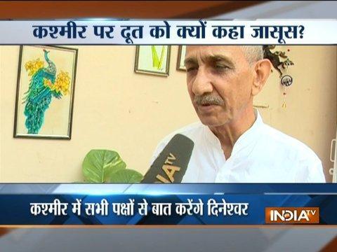 Mani Shankar Aiyar says why government has chosen a spy as interlocutor in Kashmir