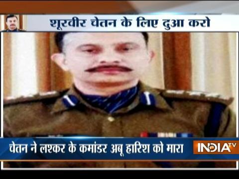 CRPF Commandant Chetan Chitah critical after Bandipore encounter
