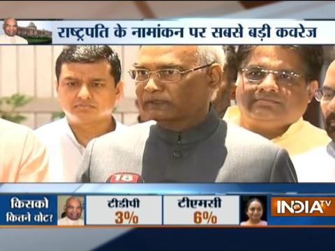 I will try to maintain the dignity of the post,says Ram Nath Kovind