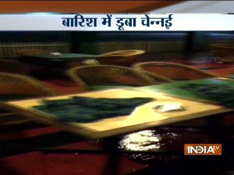 Chennai rains: Met forecasts heavy rainfall for next 24 hours, schools remain shut