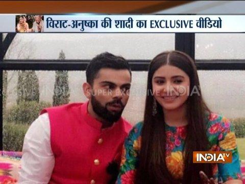Watch Video: Virat Kohli, Anushka Sharma marry in Italy
