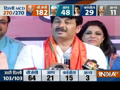 MCD election results 2017: How Manoj Tiwari made Dilli Dance to his Tunes