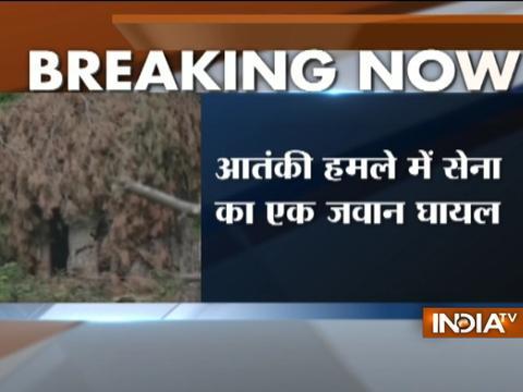Kashmir: Jawan injured in terror attack on Rashtriya Rifles camp in Kupwara