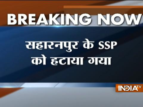 Uttar Pradesh: Saharanpur SSP SC Dubey sacked over inability to control violence