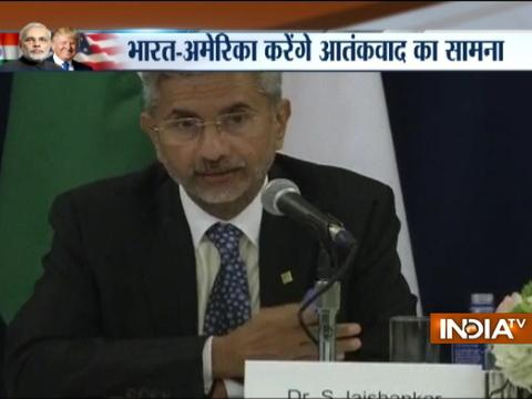 Foreign Secretary Subrahmanyam Jaishankar briefing after PM Modi-President Trump meeting