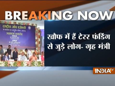 NIA strikes fear in those indulging in terror funding says Rajnath Singh