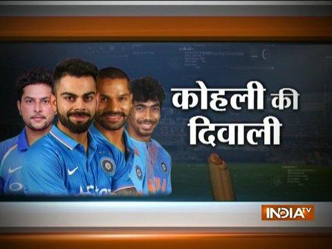 In Seventh Heaven: India extend dominance over Australia in T20Is