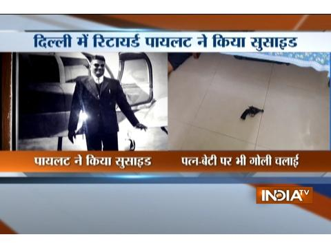 Retired pilot commits suicide in Delhi's Mayur Vihar