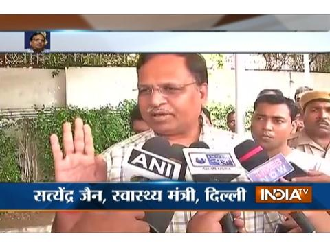 Delhi CM Kejriwal backs Satyendra Jain, says he is innocent