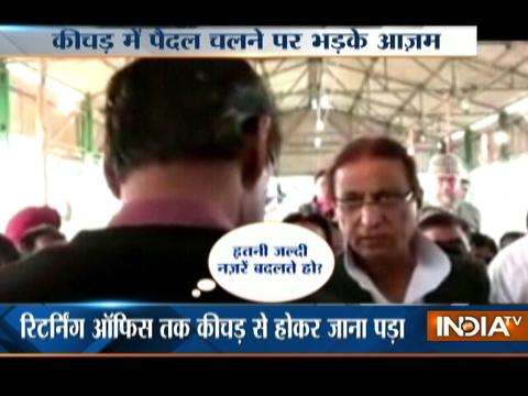 Viral: Azam Khan Caught On Camera Misbehaving with Returning Officer