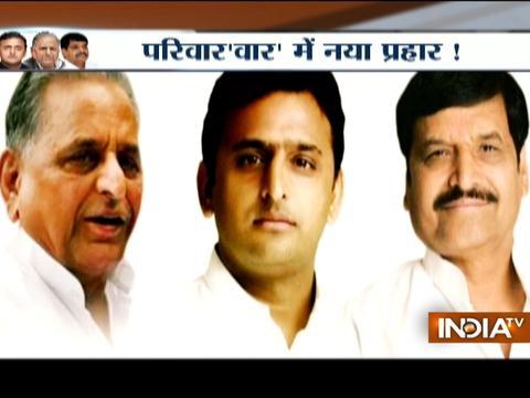 Live: After Akhilesh sacking Shivpal Yadav, Ram Gopal Yadav expelled from party