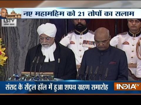 Ram Nath Kovind sworn in as 14th President of India