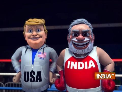 OMG: India Vs China- Indo-China Boxing Match | Narendra Modi | Xi Jinping | Donald Trump