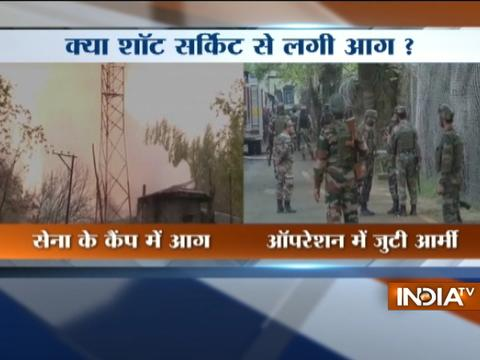 Jammu and Kashmir : Fire breaks out at Army camp in Baramulla