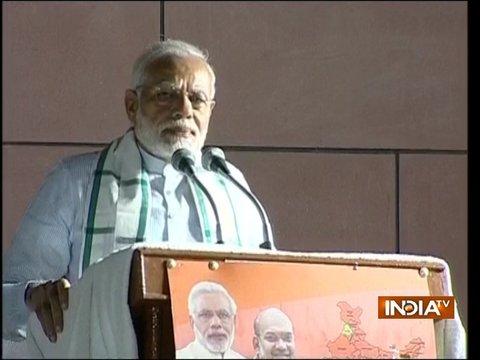 Karnataka victory in unprecedented, says PM Modi