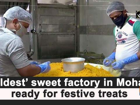 'Oldest' sweet factory in Mohali ready for festive treats
