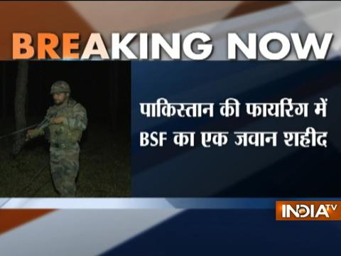 BSF Jawan martyred in cease fire violation by Pakistani Rangers along LoC