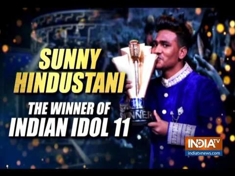 'इंडियन आइडल 11': सनी हिंदुस्तानी ने जीता विनर का खिताब
