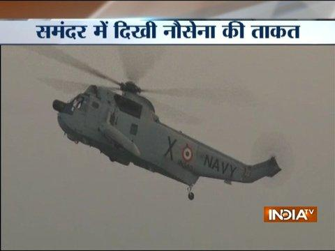 Andhra Pradesh: Indian Navy Day celebrations at Visakhapatnam