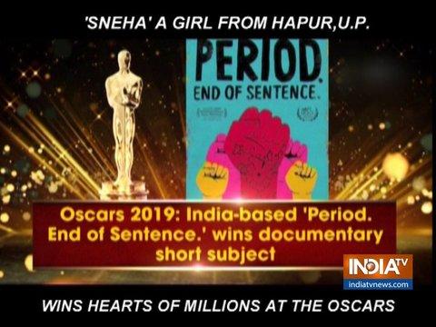India-based film on menstruation wins Best Documentary award at Oscars 2019