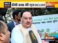 BJP President JP Nadda In An Exclusive Conversation With India TV