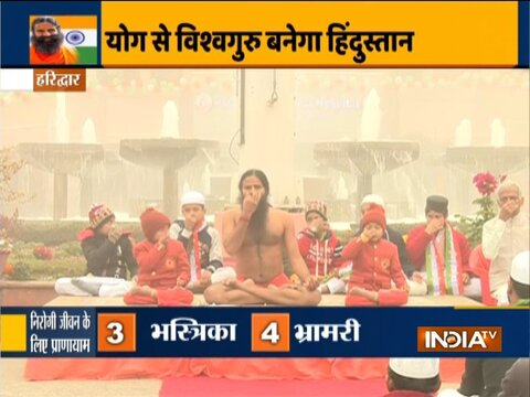 Yoga should become compulsory in education and health, says Swami Ramdev