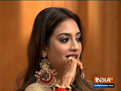 Nusrat Jahan, Mimi Chakraborty in Aap Ki Adalat: When newly-wed MP's husband Nikhil Jain posed a question to her