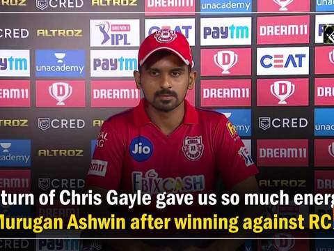 Return of Chris Gayle gave us so much energy: Murugan Ashwin after winning against RCB