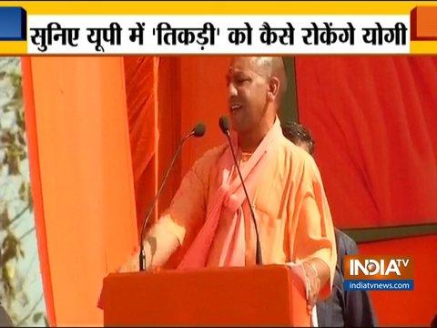 यूपी CM योगी आदित्यनाथ ने राहुल का उड़ाया मजाक, अखिलेश और मायावती पर भी किया वार