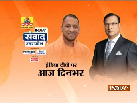 India TV Samvaad: Day-long mega conclave on performance of one-year-old Yogi Govt today
