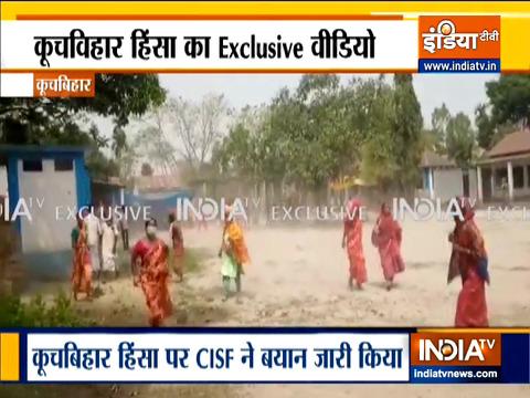 Bengal polls 2021: 4 shot dead in Cooch Behar, watch Exclusive Video